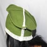 Chapeau en laine verte
