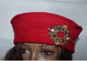 chapeau_rouge_laine_mode_femme