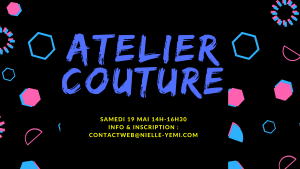 Atelier couture samedi 19 mai 2018